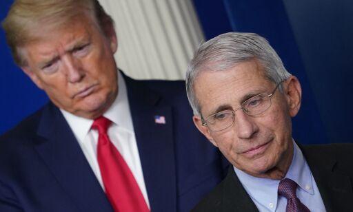 image: Fauci kritisk til Trump-møte