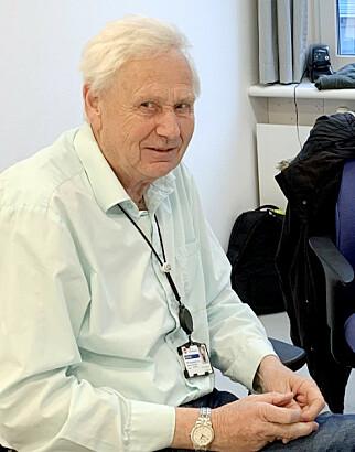 Per-Arne Rindalsholt har blant annet jobba 38,5 år i Visma Consulting, før han pensjonerte seg denne våren. Nå forteller han om norsk programmeringshistorie på kode24. 📸: Visma
