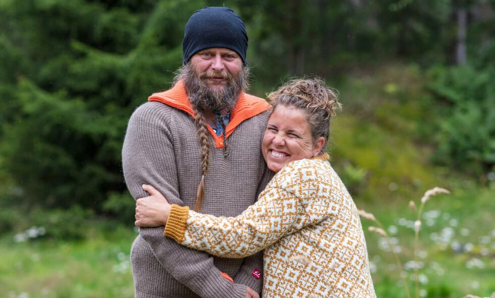 SAMBOERE: Frank Tore Aniksdal og Eunike Hoksrød fant kjærligheten etter «Farmen»-deltakelsen. Nå flytter de sammen. Foto: Alex Iversen / TV 2