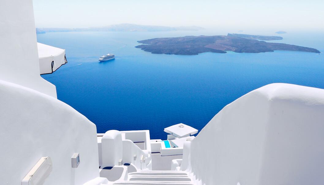 KAN STENGE: Greske myndigheter utelukker ikke at greske øyer kan måtte stenge igjen om coronasmitten blusser opp igjen. Foto: NTB Scanpix