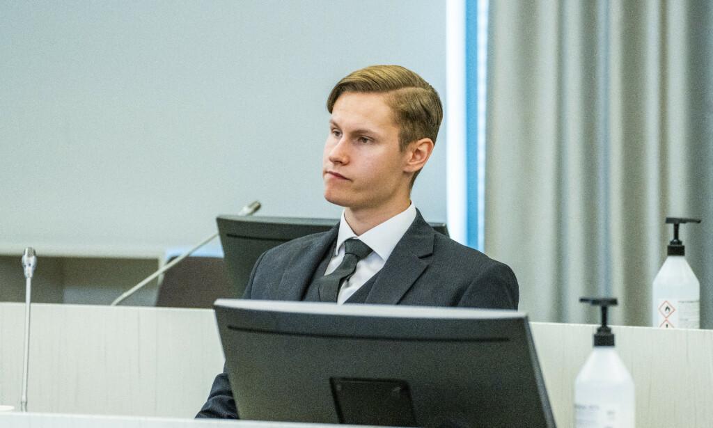 Philip Manshaus fikk dommen forkynt i tingretten torsdag. Foto: Håkon Mosvold Larsen / NTB scanpix