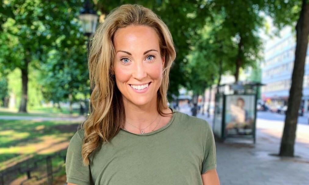 KJEMPER: Elin Kjos har den siste tida gått til behandling mot en kreftdiagnose det ikke finnes noen kur mot. Om en måned vet hun om den fungerer. Foto: Privat, gjengitt med tillatelse