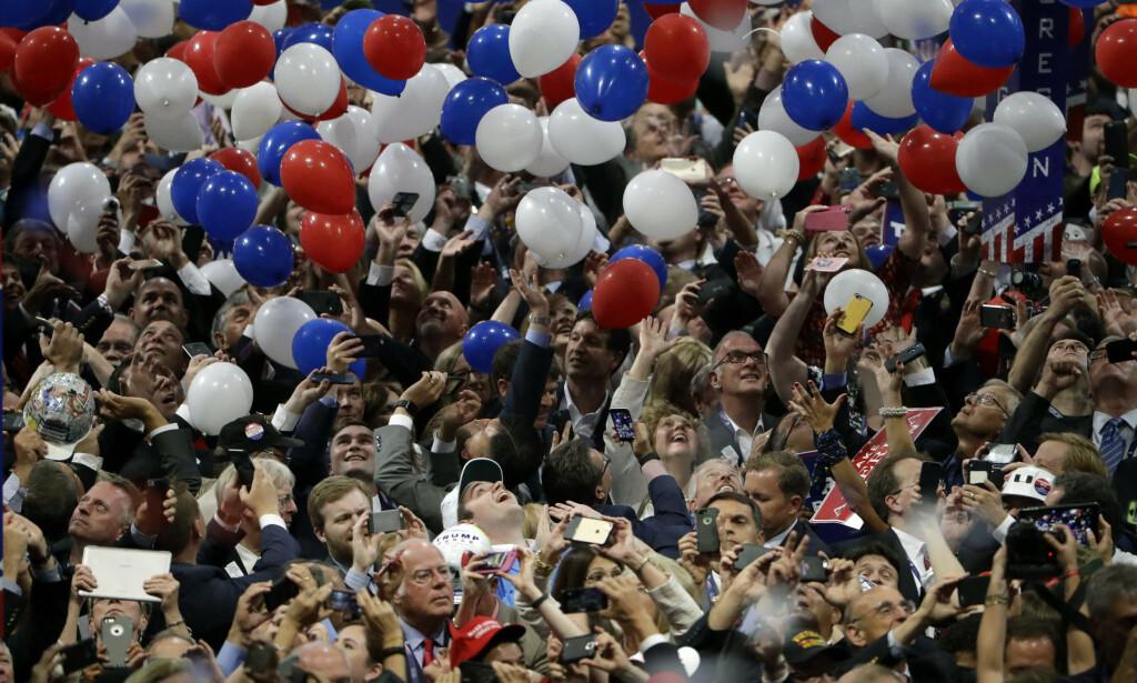 President Donald Trump sliter på meningsmålingene og gjenopptar nå de store folkemøtene, i håp om at det skal sikre gjenvalg 3. november. Foto: AP / NTB scanpix