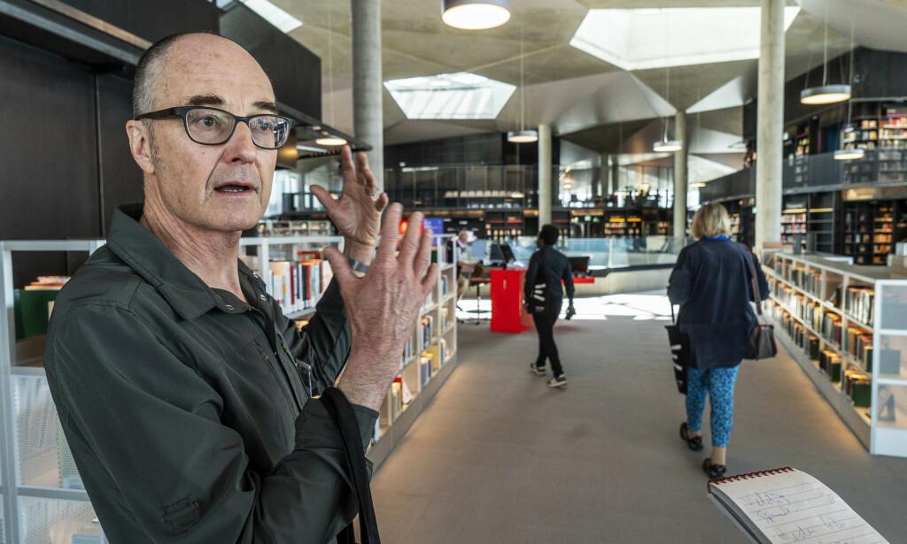 ARKITEKT: Einar Hagem i Lundhagem arkitekter har tegnet bygget sammen med