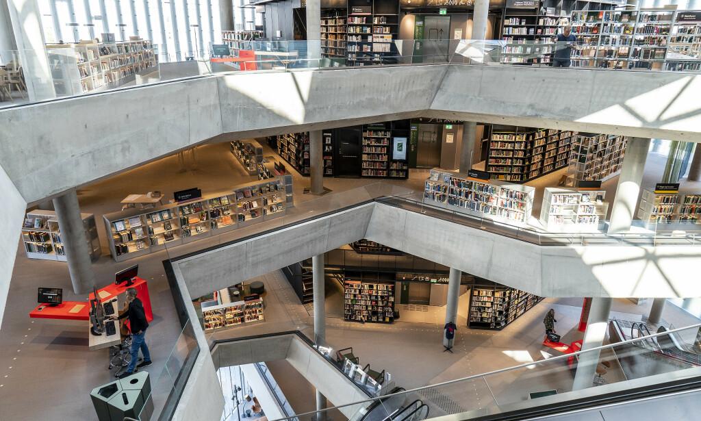 Bygget strekker seg over seks etasjer. Foto: Hans Arne Vedlog / Dagbladet