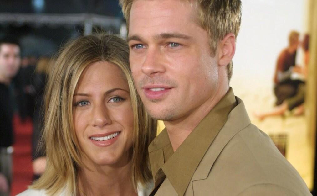 Eksparet Jennifer Aniston og Brad Pitt skal ha kommet nærmere hverandre det siste året. Nå kan de imidlertid bli påvirket av Brads andre eks, Angelina Jolie. Foto: NTB Scanpix