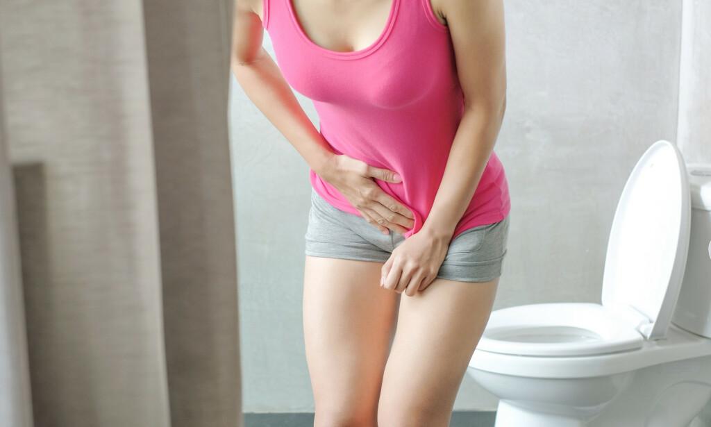 SMERTE OG SVIE: Urinveisinfeksjoner kan være en smertefull opplevelse. Foto: NTB Scanpix/Shutterstock