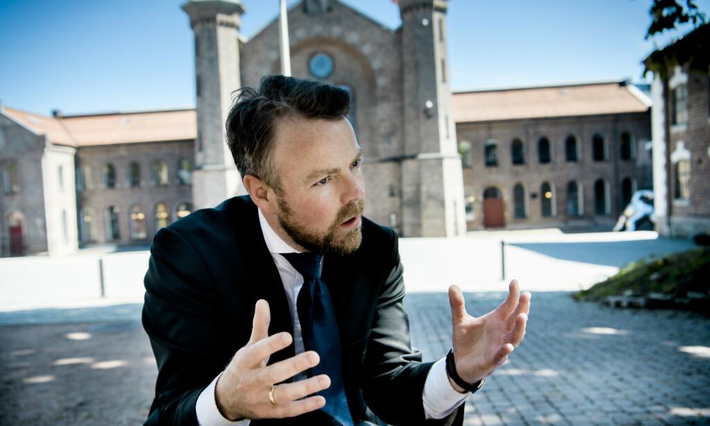 - ÅPNE DØRER: Arbeids- og sosialminister Torbjørn Røe Isaksen påpeker at regjeringen allerede er godt i gang med å bruke lønnstilskudd som virkemiddel. Foto: Lars Eivind Bones / Dagbladet