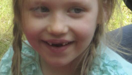Fem år gamle Inga Gehricke forsvant under en skogstur sammen med familien utenfor landsbyen Schönebeck i Sachsen-Anhalt i 2015. Foto: AP / NTB scanpix