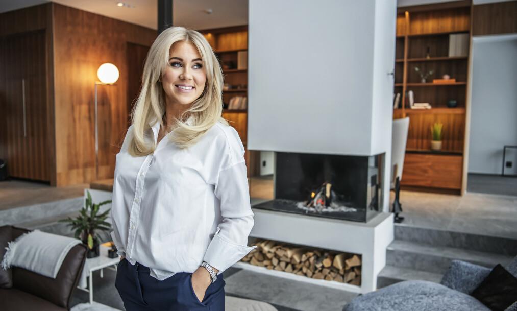 SOLGTE VILLAEN: Isabella Löwengrip solgte denne villaen for kjempesum. Foto: Anna-Karin Nilsson/Expressen