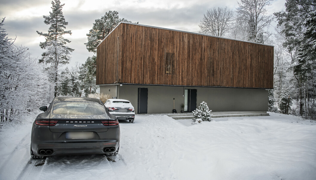 DYR VILLA: Villaen ligger på Lidingö i Stockholm. Foto: Anna-Karin Nilsson/Expressen
