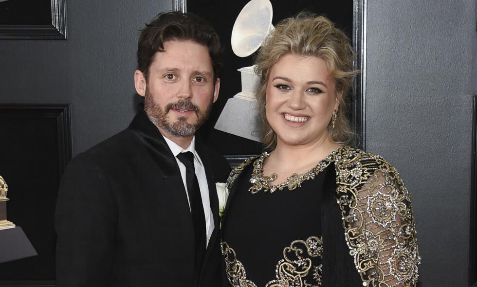 SKILLES: Brandon Blackstock og Kelly Clarkson går fra hverandre. Foto: NTB scanpix