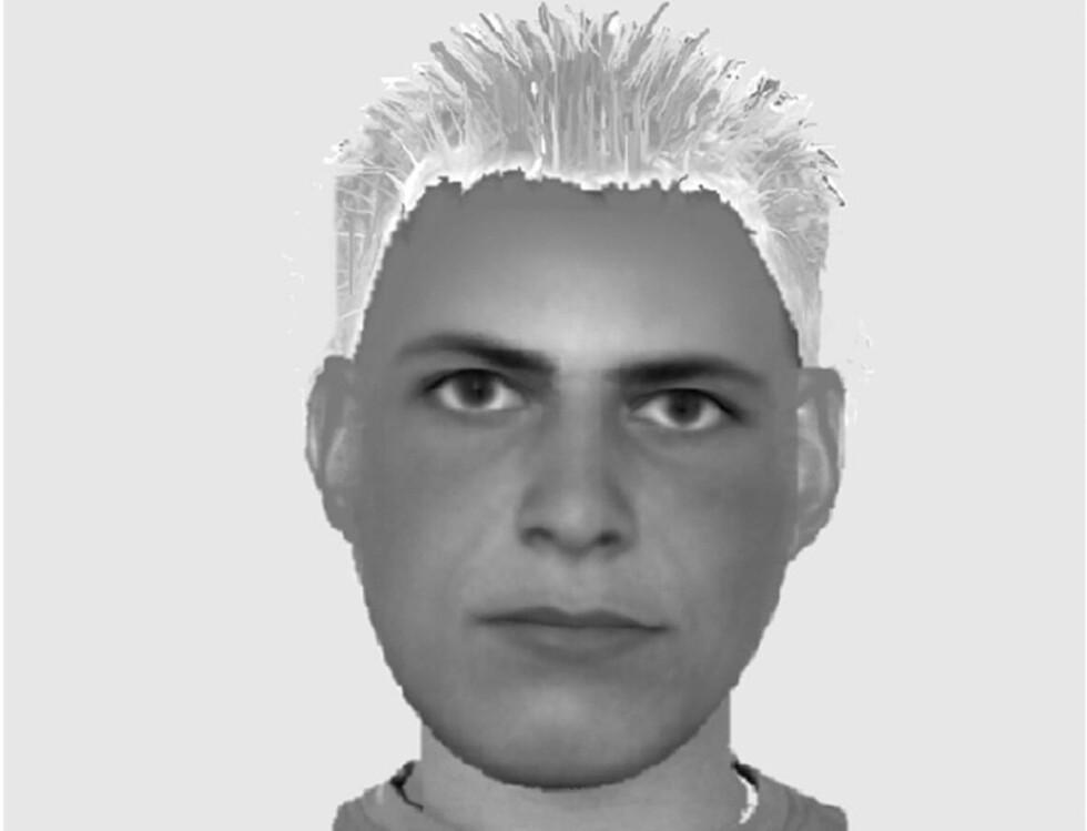PÅGREPET: Fantomtegninga ble lagd i 2004. Nå er han pågrepet. Illustrasjon: Politiet