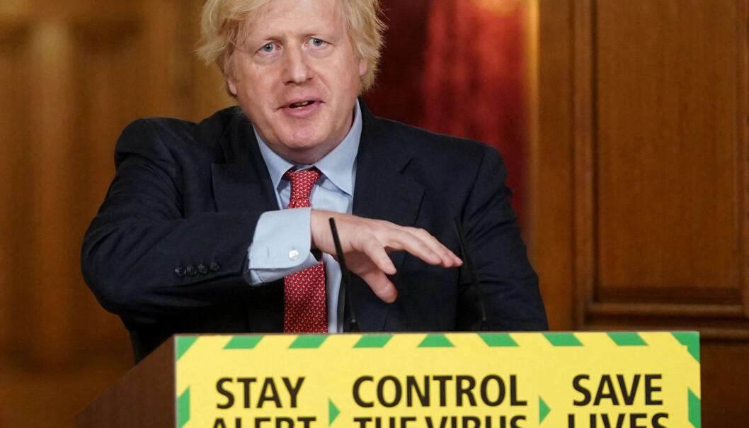 <strong>KRISETALL:</strong> Britisk økonomi ser ut til å være den som er aller hardest rammet av coronaviruset. På toppen av det hele må Boris Johnson forsøke å lose landet ut av EU på en god måte. Foto: NTB scanpix