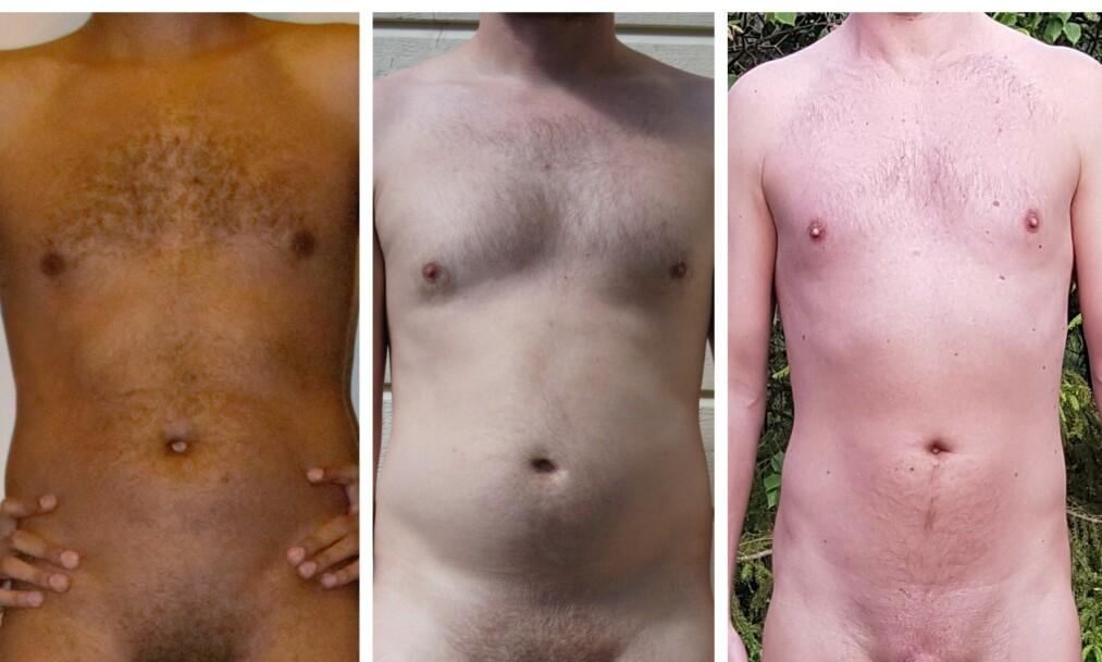 SLIK JEG ER: Fem menn i ulike aldre forteller åpent om kroppen sin og forholdet til egen penis. Foto: Privat