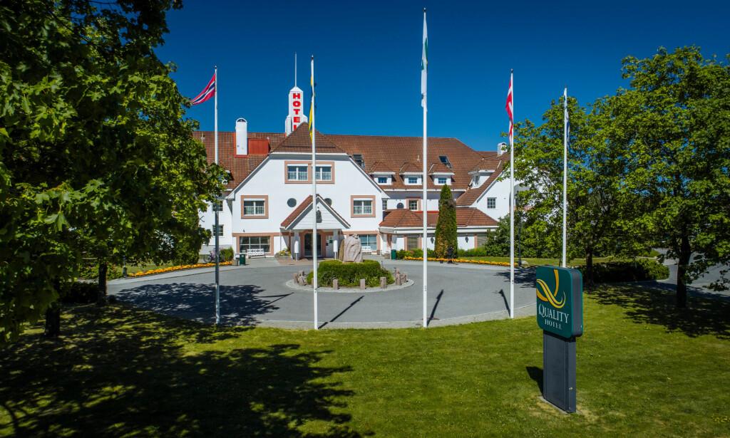 KRISE: For Quality hotell Olavsgaard er halvparten av omsetningen knyttet til konferanser. Derfor står de nå i en krevende økonomisk situasjon.