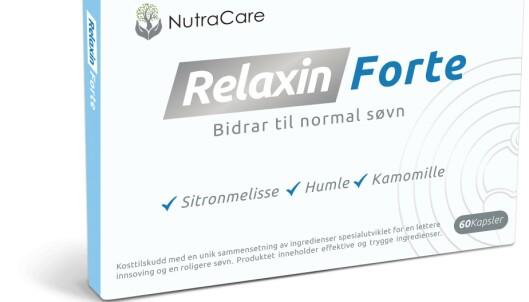 NATURLIG: Med melatonin, humle, havre, kamille og andre naturlige ingredienser, kan Relaxin Forte hjelpe Ole Lukkeøye med å få deg til å sove godt.