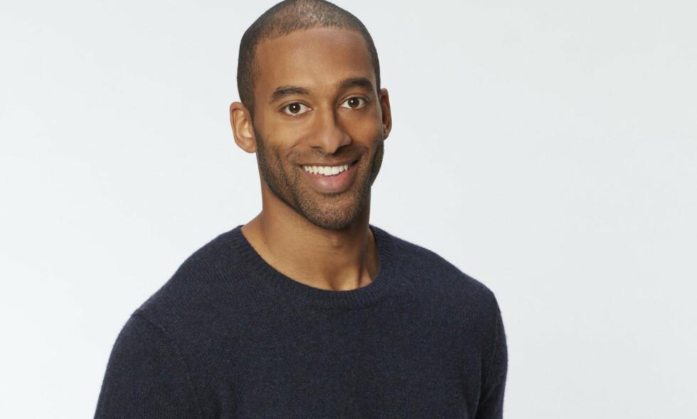 NYE UNGKAREN: Matt James er den neste ungkaren i programmet «The Bachelor». Programmet som har lagt bak seg 24 sesonger, har for aller første gang valgt en mørkhudet hovedrolleinnehaver. Foto: ABC via AP