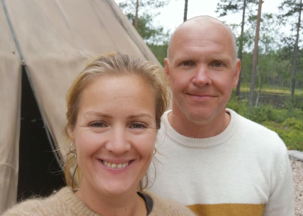 GIFTER SEG: Siri Kristiansen og Espen Bjurstedt skal gifte seg i sommer. Foto: Privat