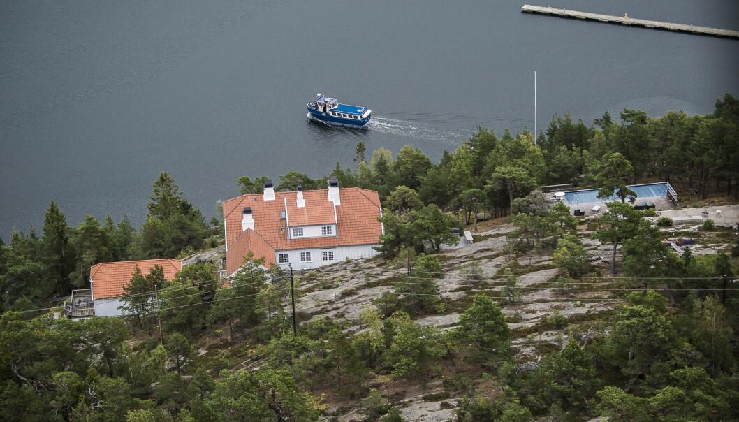 PRISREDUKSJON: Eiendommen på Bloksberg på Hankø er lagt ut for ti millioner mindre enn i fjor. Foto: Lars Eivind Bones / Dagbladet