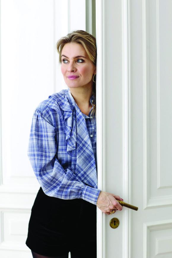 En av de tingene Anne Sofie øver seg på, er å styre unna grublerier. FOTO: Sif Meincke