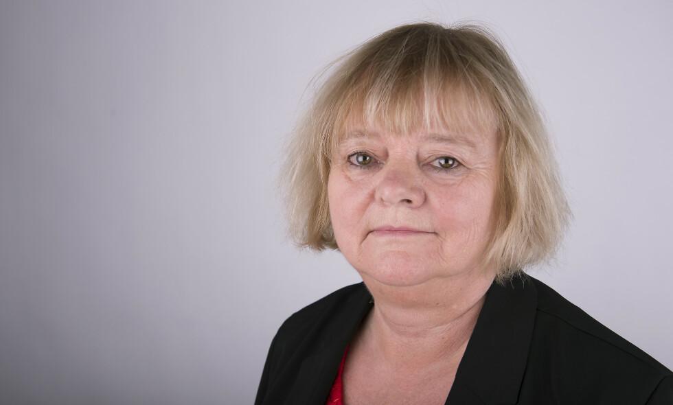 KRITISK: Mimmi Kvisvik, forbundsleder i Fellesorganisasjonen, som organiserer barnevernsansatte over hele Norge. Foto: FO