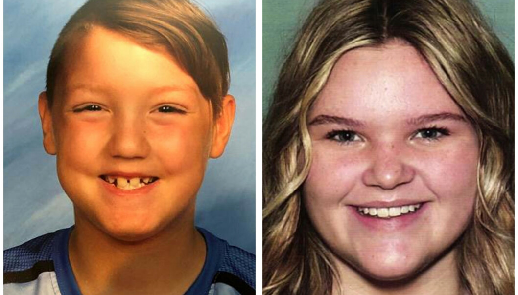 DREPT: Politiet i Idaho bekrefter at det var Joshua «JJ» Vallow (7) og Tylee Ryan (17) som ble funnet tidligere denne uka. Foto: AP / NTB Scanpix