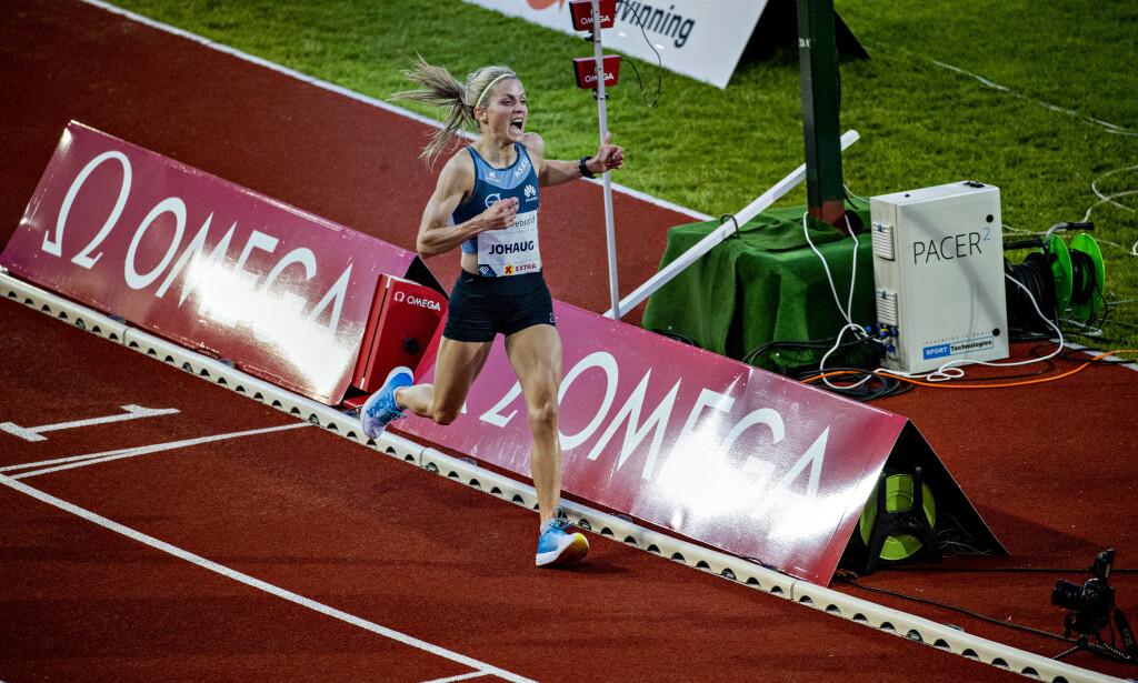 VIL TESTE UT MARATON: Therese Johaug. Foto: Bjørn Langsem / Dagbladet