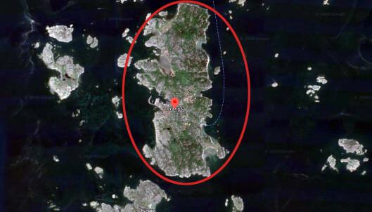 Massesmitte på svensk øy