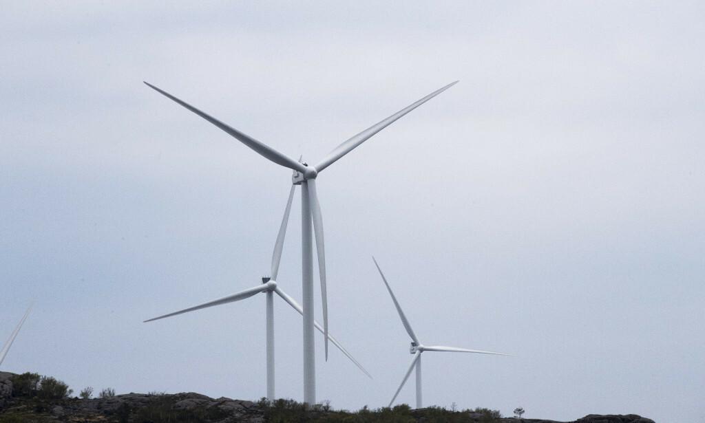 VINDKRAFT: Vi har full respekt for at det finnes ulike syn på vindkraften, men vi vil be om en saklig, åpen og opplyst debatt, skriver innleggsforfatteren. Foto: Terje Pedersen / NTB scanpix