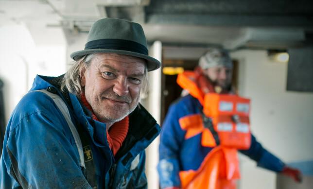 NORD SØR-FORBRØDRING: På Andøya og knytter Alex Rosén og Aune Sand vennskapsbånd til lokalbefolkningen. Foto: Tor-Even Mathisen
