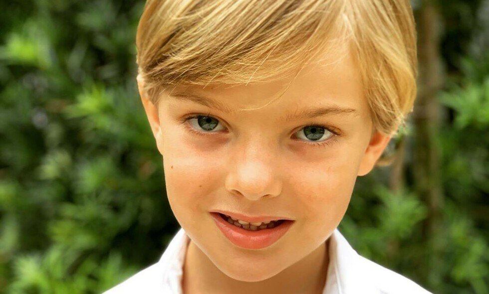 BURSDAG: Prins Nicolas fyller fem år mandag 15. juni. Foto: Prinsesse Madeleine / Det svenske kongehuset