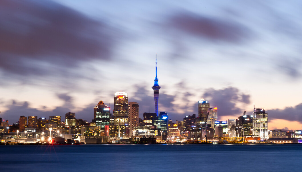 Illustrasjonsbilde av Auckland i New Zealand. Foto: Chris Howey / Shutterstock / NTB scanpix