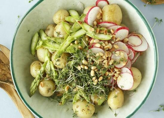 Potetsalat med reddiker (4 porsjoner)