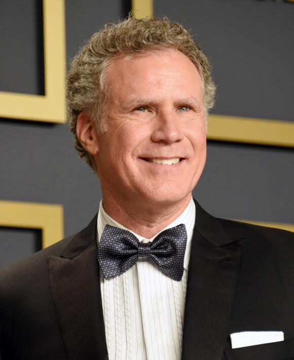 STAND BY YOUR ANCHORMAN: Will Ferrell på Oscar-utdelingen i 2020. Han er forøvrig lykkelig gift med sin svenske kone. FOTO: NTBScanpix