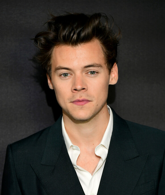 PEN I TØYET: Harry Styles skal ha hatt på seg dress den natten han gjorde sine hoser grønne hos Lindsay Lohan. Hvert fall ifølge Lohan. FOTO: NTBScanpix