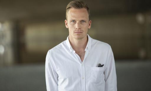 Kommentator og fotball-ekspert Simen Stamsø Møller i TV 2.