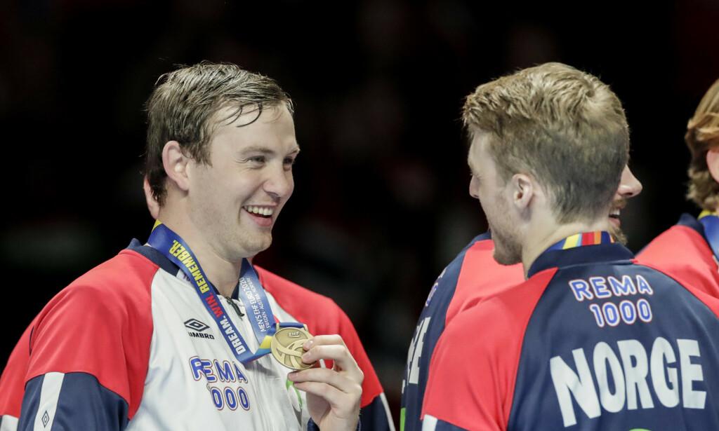 GOD SJANSE: Sander Sagosen og Norge har et fordelaktig oppsett i EM-kvalifiseringen. Foto: Vidar Ruud / NTB scanpix