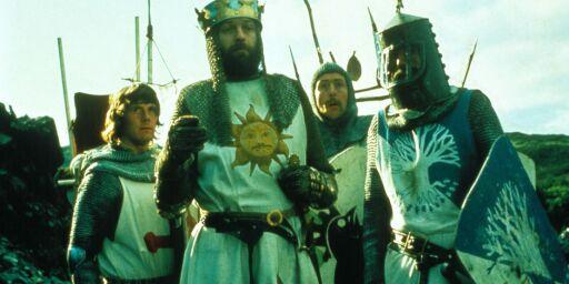 image: Fox News med Monty Python-tabbe