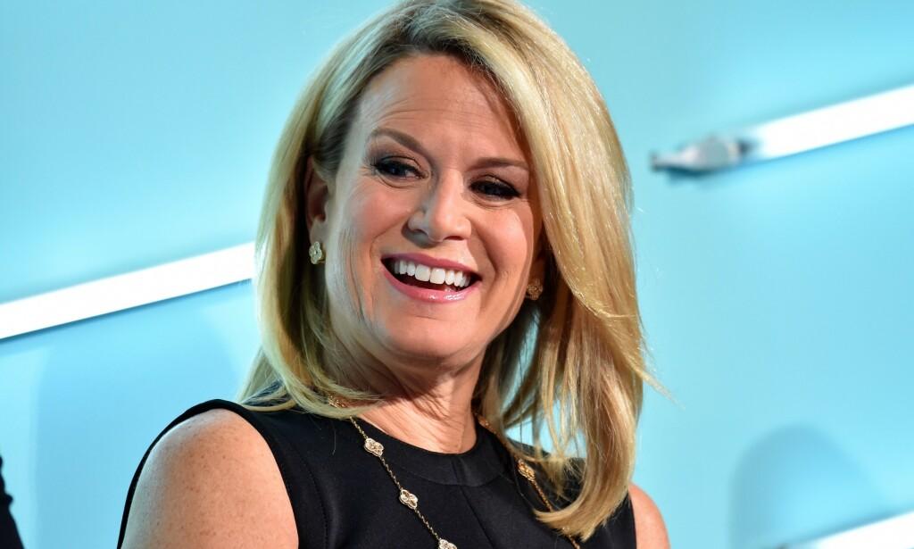 TABBE: Programleder Martha MacCallum leste opp feilen under programmet «The Story». Foto: Shutterstock / NTB scanpix