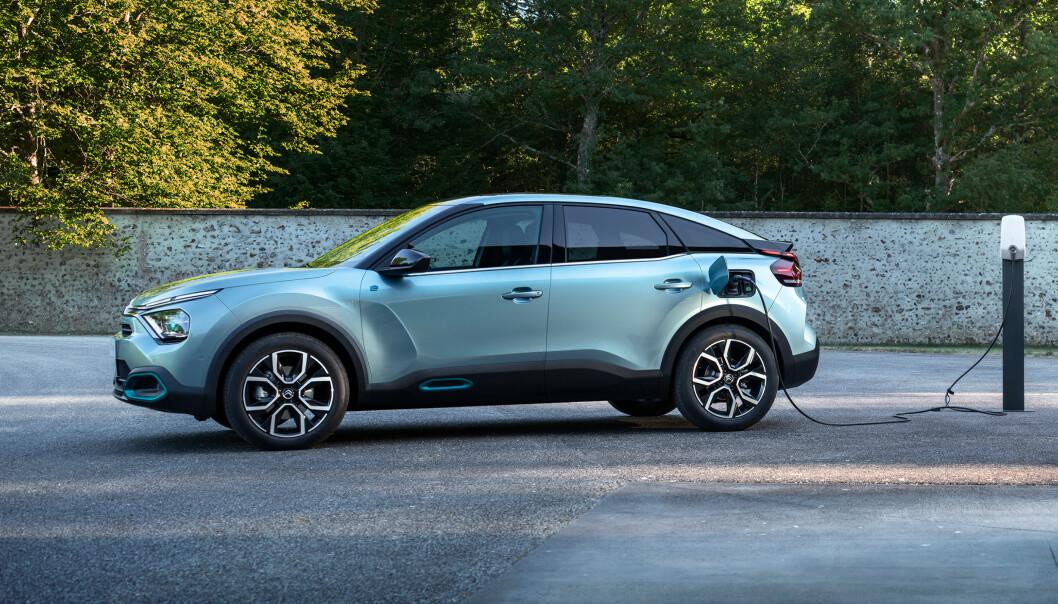 Si hei til Citroën ë-C4