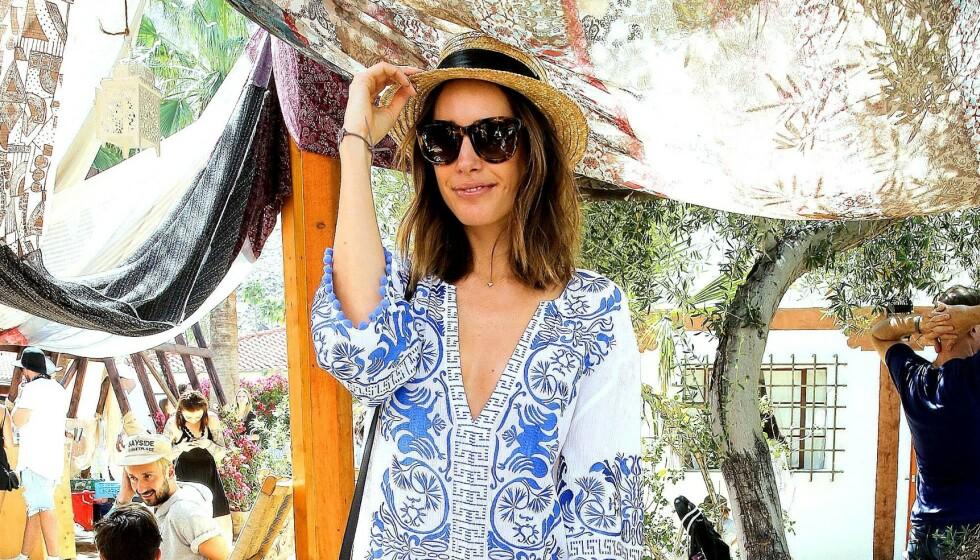 KAFTAN: Denne typen kjole passer utmerket til varme sommerdager! Foto: NTB Scanpix