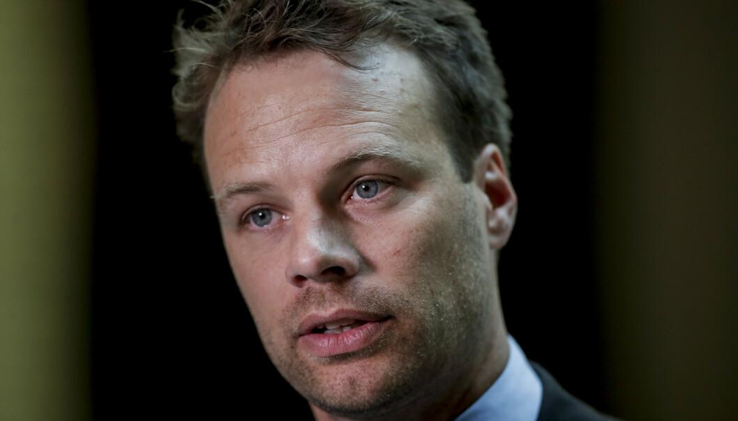 Frps innvandringspolitiske talsperson Jon Engen-Helgheim mener at rasisme i Norge skjer på individnivå. Foto: Vidar Ruud / NTB scanpix.