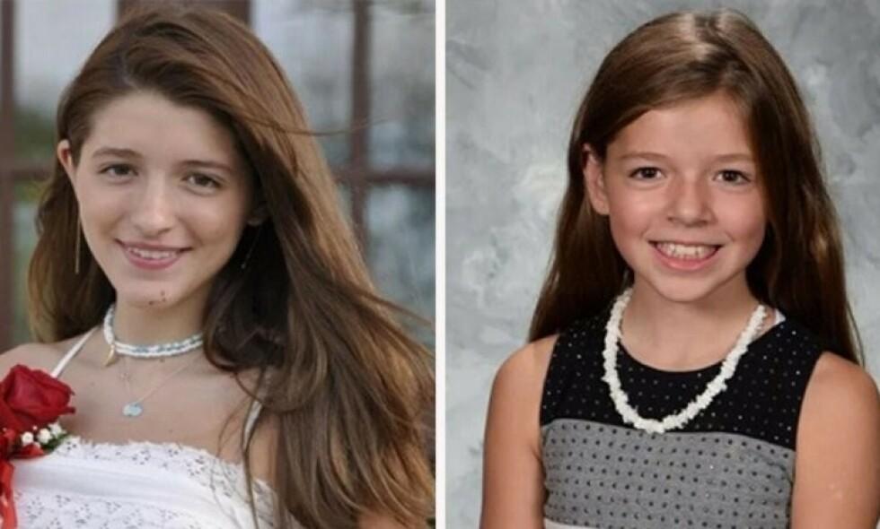 DØDE: Scout (t.b) og Chasey Scaravilli omkom i en hengekøyeulykke søndag kveld. Foto: Privat