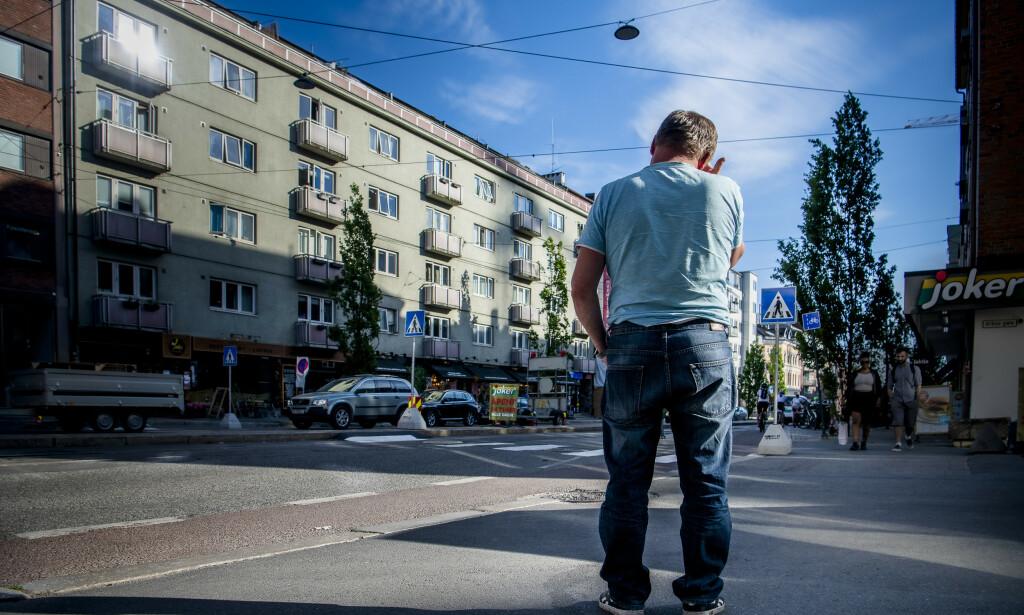 IKKE REGISTRERT: - Jeg visste ikke har jeg jobbet svart, sier Kazimierz. Foto: Lars Eivind Bones / Dagbladet