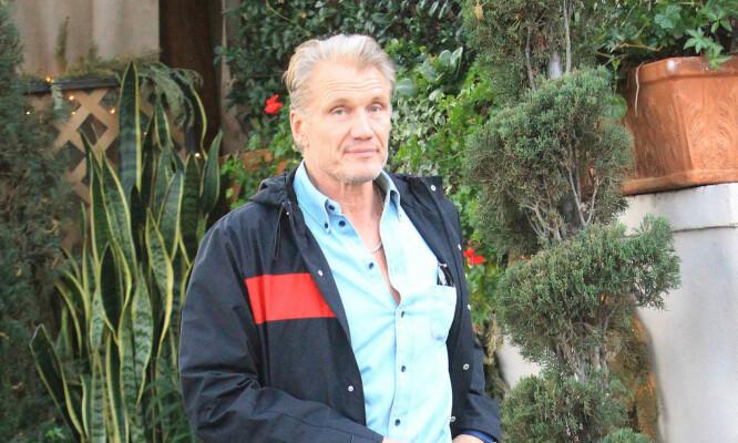 FORLOVET: Dolph har fridd til norske Emma. Her er han fotografert i desember i Los Angeles. Foto: NTB scanpix