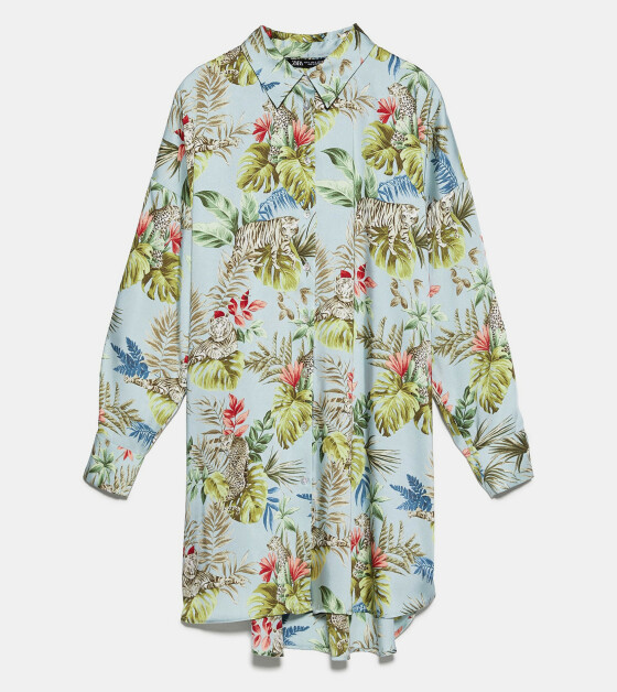 Hawaiiskjorte (kr 360, Zara).