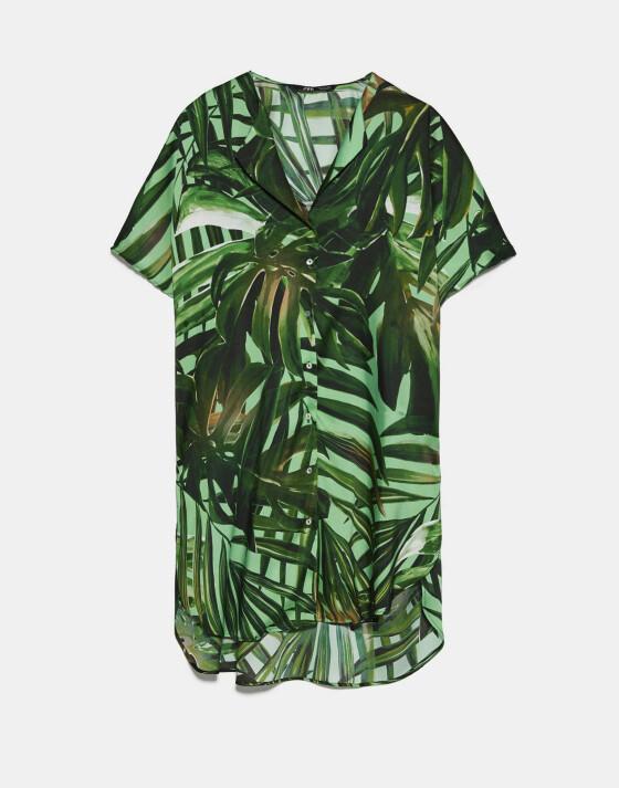 Tropisk kjole (kr 360, Zara).