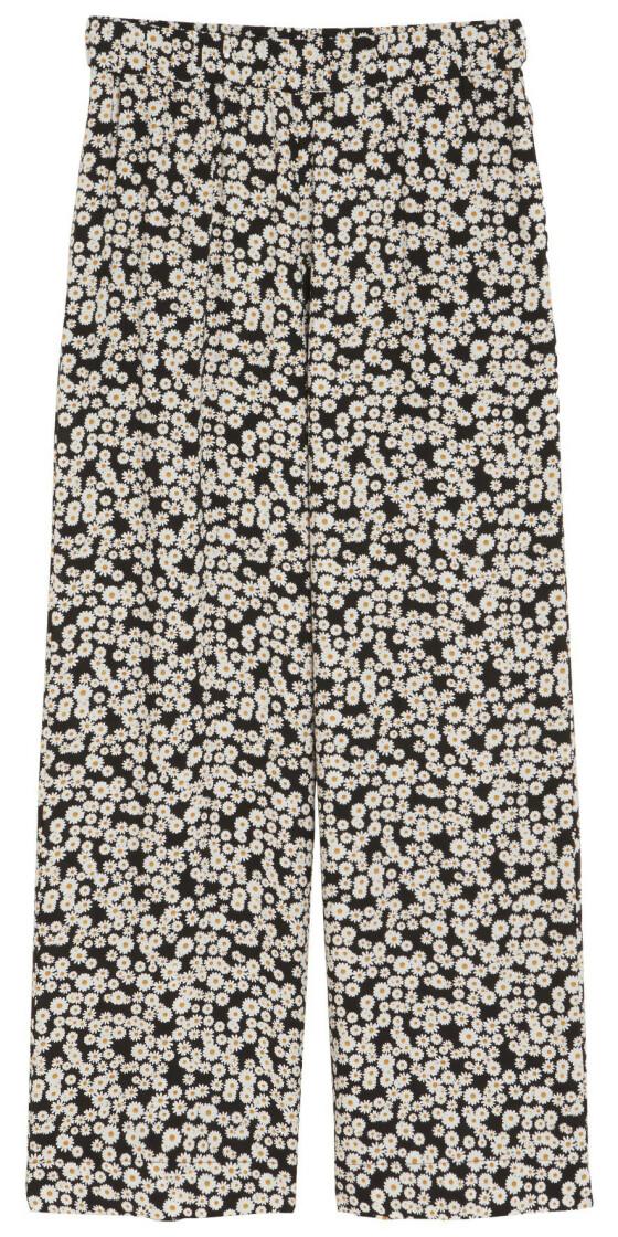 Mønstrete bukse (kr 200, Lindex).