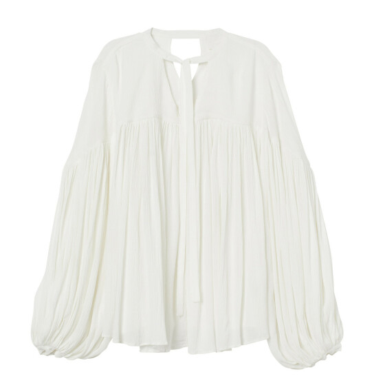 Bluse (kr 500, H&M).